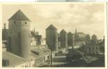 Estonia, Tallinn, Medieval Towers, Used Photo/ Postcard [P6504] - Estonia