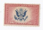 Timbre Stamp Américain USA Etat-unis : 16 C Us United States Of America ( Special Delivery ) Drapeau Aigle - 1b. 1918-1940 Neufs