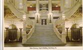 B32585 Main Stairway Capitol Building Pennsylvania Harrisburge Not Used Perfect Shape - Harrisburg