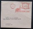 Deutsches Reich Böhmen Und Mähren Bedarfs Brief  Freistempel Prag .Bedarfsspuren Rückseite Beschriftet! - Covers & Documents