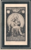 NOBLESSE - CHATEAU DE PRINTHAEGEN ( Cortessem ) °1835 +1907 MARIE TEUWENS - JONKHEER NORBERT SMITS VAN ECKART - Santini