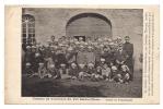 Cp , 25 , AMANCEY , Colonie De Vacances Du Val Ste-Marie , Avant La Promenade , Dos Vert , Voyagée 1928 - Autres Communes