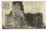 CHÂTELLIERS-CHÂTEAUMUR. - Ruines Du Vieux Château - France