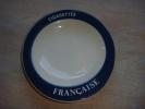 Cendrier  Cigarettes Française   Longchamp France - Porcelaine