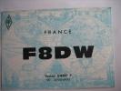 QSL ... CARTE RADIO AMATEUR - SEVENANS - 1966 - F 8 D W - Docteur GIBERT P. - Radio Amateur