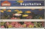 TARJETA DE SEYCHELLES DE UN PECES (FISH-PEZ) (esta Un Poco Marcada En El Centro) - Peces