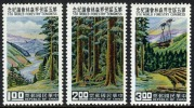 China #1267-69 Mint Never Hinged Forestry Swet From 1960 - Ungebraucht