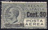ITALIA 1927 - Aerea 50 Su 60 C. **        (g1568) - 1900-44 Vittorio Emanuele III