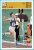MARITA KOCH - Germany Athletics Star ( Yugoslavia Old Card Svijet Sporta) Athlétisme Athletik Deutschland Leichtathletik - Athletics