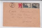 ALGERIE - 1940 -YVERT N° 114X2 Sur LETTRE De ORAN Pour GENEVE CROIX-ROUGE (SUISSE) - PRISONNIERS De GUERRE - Brieven En Documenten