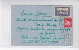 ALGERIE - 1942 -YVERT N° 141A+173 Sur LETTRE De ALGER Pour GENEVE CROIX-ROUGE (SUISSE) - PRISONNIERS De GUERRE - Algérie (1924-1962)