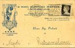 2a FESTA NAZIONALE UVA ROMA 1931 TESTATINA - Publicidad