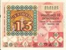 LOTERIE NATIONALE Vendredi 13 - Billets De Loterie