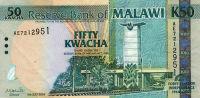 MALAWI 50 KWACHA 2004 PICK # 49 - Malawi