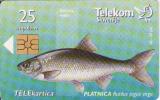 Slovenie, Chip 25 Units, Poissons, Petit Tirage - Slovénie
