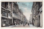 Allemagne- Bochum- Friedrichstrasse- Animée- Tuch-Lager Von Josef Kadlec- 1909- Scan Recto-verso - Bochum