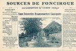 LABASTIDE SUR L'HERS (09) Carte Illustrée Sources De Foncirgue Thermalisme - France
