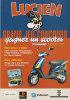 MARGERIN. Lucien. Grand Jeu-Concours. Gagnez Un Scooter PIAGGIO, Modèle ZIP. Dépliant PUB Illustré. 1998. - Objets Publicitaires
