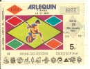 LOTERIE NATIONALE  Arlequin - Billets De Loterie