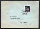 Deutsches Reich Böhmen Und Mähren  Brief Rotes Kreuz  Prag Gelaufen.Bedarfsspuren. - Covers & Documents