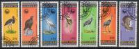 Mongolie - Oiseaux 1354/1360 Oblit. - Collections, Lots & Series