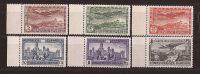 ES614-L3999TA.Spain Espagne CONGRESO UNION POSTAL PANAMERICANA 1931 (Ed 614/9**) Sin Charnela LUJO BORDE DE HOJA - Aéreo