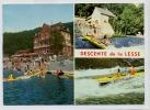 (H732) - Descente De La Lesse / Terminus ../ Le Beau Rivage - Arrivée Des Kayaks Jaunes Et Blancs / Anseremme-Dinant - Dinant