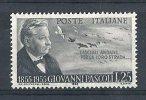 1955 ITALIA PASCOLI MH * - RR9106 - 1946-60: Mint/hinged