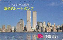Télécarte Japon / 290-23425  - Site USA - NEW YORK WORLD TRADE CENTER WTC -  Japan Phonecard - 70 - Landschaften