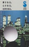 Télécarte Japon - Site USA - NEW YORK WORLD TRADE CENTER WTC - Japan Phonecard Telefonkarte - 81 - Landschappen