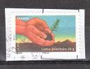 """FRANCE / 2011 / Y&T N° AA 526 : """"Terre"""" (Jeune Pousse) - Choisi - Cachet Rond - France"""