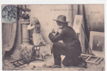18491 Le Peintre Et Son Modele . 6 Ah Pardon .  Enfant Portrait - 1904 AD Nantes France - Peintures & Tableaux