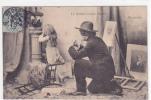 18491 Le Peintre Et Son Modele . 6 Ah Pardon .  Enfant Portrait - 1904 AD Nantes France