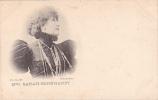 18498 Mme SARAH BERNHARDT . L ' H Paris, Cliché Reutlinger. . Vers 1900 Nuage - Théâtre