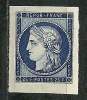 """YT 831 """" Centenaire Du Timbre 15F Bleu Non Dentelé """" 1949 Neuf ** - Unused Stamps"""