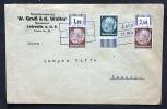 Deutsches Reich Böhmen Und Mähren Brief Von Lobositz Nach Ausig - Covers & Documents