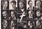 18516 Oberammergau Passions Spiele, 1960 Hauptdarsteller. E Haag. Passion Apotres Marie-madeleine Judas Christ