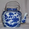 CHINA: Teapot White And Blue - Arte Asiatica