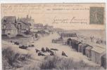 18530 PORNICHET Un Coin De La Plage. 3797 Vasselier; Cabines Plage - Pliure!- - Pornichet