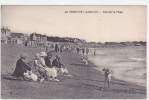 18532 PORNICHET Vue Sur La Plage; 44 Chapeau. Enfants - Pornichet