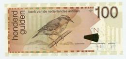 NETHERLANDS ANTILLES 100 GULDEN 1981 P 19 UNC - Antille Olandesi (...-1986)