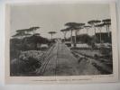 1929 Autostrada Napoli Pompei  PORTICI  - Ancienne Coupure De Presse Italienne Avec Photo - Historical Documents