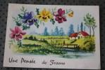 CARTE POSTALE  FETES VOEUX  Frasnes - Lez - Anvaing Localisation: Pays Belgique , Région Wallonie, Province De Hainaut - Frasnes-lez-Anvaing