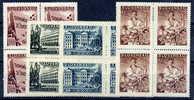 SLOVAKIA 1943 Culture Fund MNH Blocks (**) - Unused Stamps