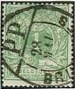 Belgique - No26 Oblitéré Bruxeles, Double Ellipse Pour Imprimés, PP Dans Segment, Sans Millésime,concours, TTB - 1869-1888 Lion Couché (Liegender Löwe)