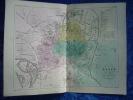 -Malte Brun-1854-Carte Géographique-Plan De Dijon- - Cartes Géographiques