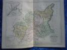 -Malte Brun-1854-Carte Géographique Des Basses Alpes-Plan Et Environs De Digne- - Mapas Geográficas