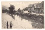 Cp , 68 , MOOSCH , Quai Sur La Thur , Animée , Vierge - Autres Communes