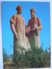 Samarkand Giant Statue Uzbekistan 1988 USSR Postcard - Uzbekistan