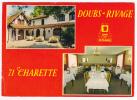 """Charette - Hôtel-Restaurant""""Doubs Rivage"""" * NN - Logis De France - N´a Pas Circulé - Cpm 10.5X15 - France"""